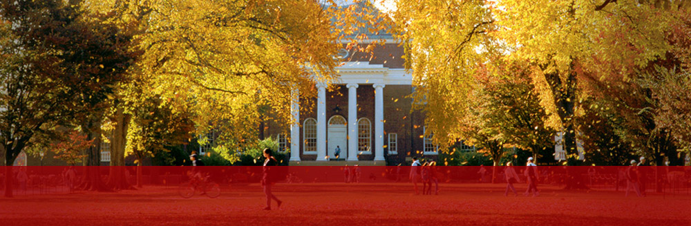 University of Delaware campus in fall